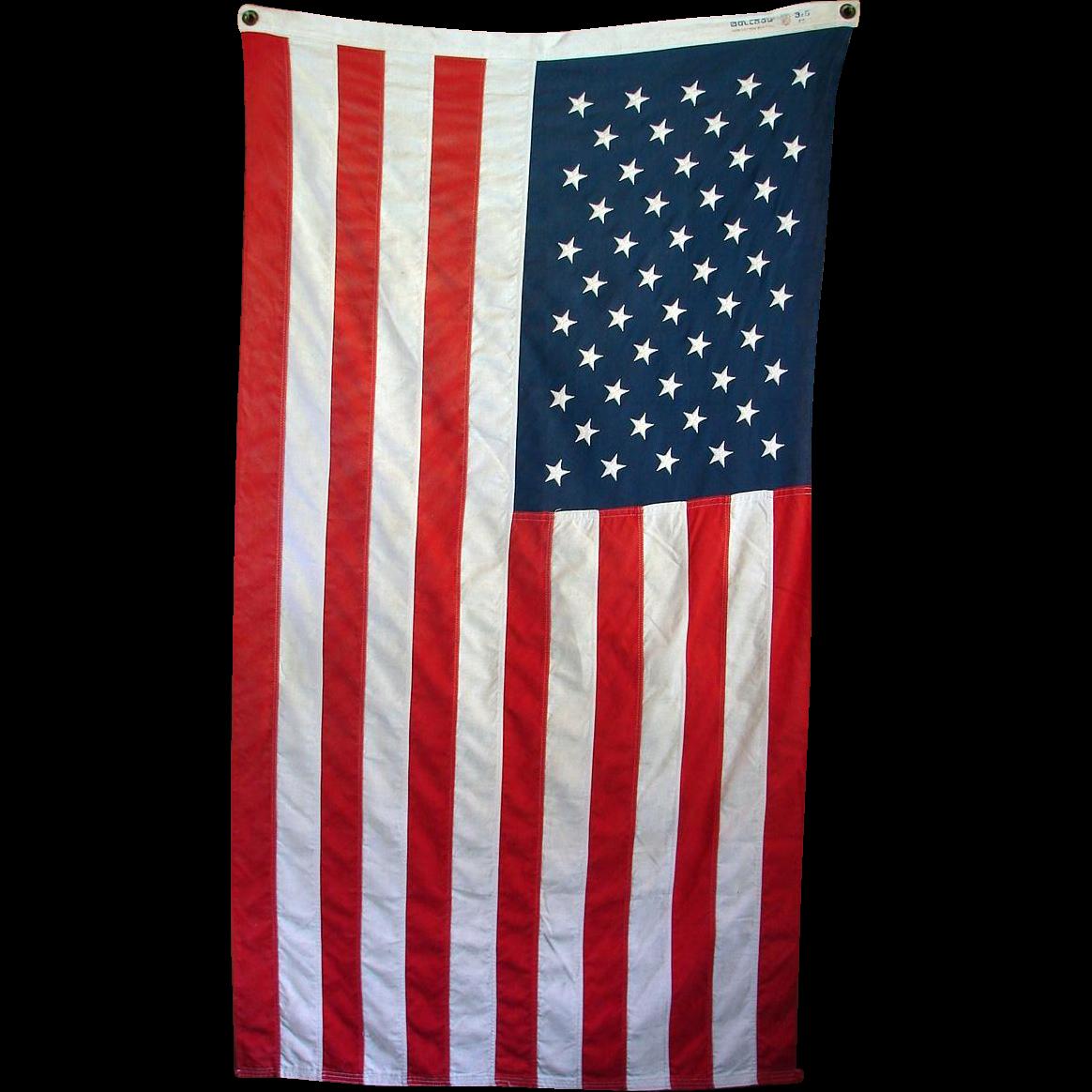 50 star american flag