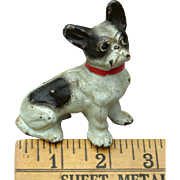 Early 1900s Hubley French Bulldog Cast Iron Paperweight