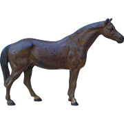 Hubley Bay Horse Stallion Full Body Cast Iron Doorstop