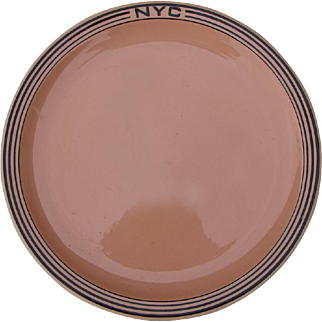 """Vintage New York Central Railroad China """"Mohawk"""" Dinner Plate NYCRR"""