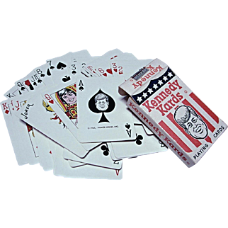 Vintage 1963 Kennedy Kards Deck Playing Cards