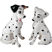Vintage Pongo & Perdita 101 Dalmatians Disney China Dog Figurines