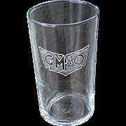 Vintage Gulf, Mobile & Ohio Railroad GM&ORR Side Logo Drinking Glass
