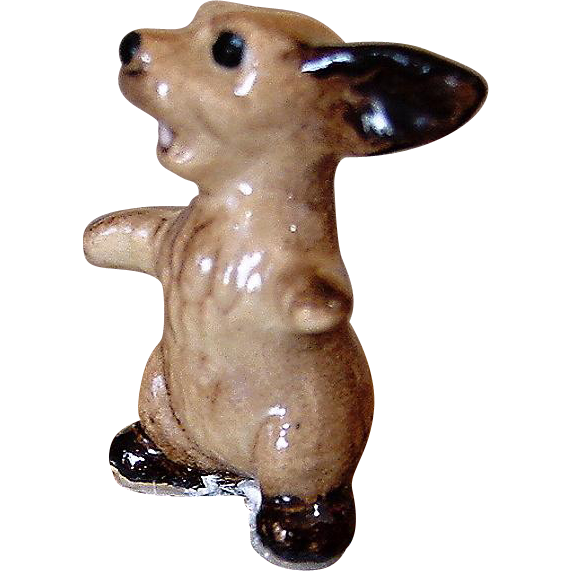 "Vintage Retired Lady & The Tramp Puppy ""Scooter"" Hagen Renaker China Dog"