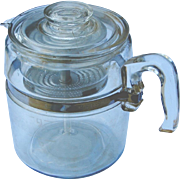 My Mother's Vintage Pyrex Flameware Coffee Pot 6-9 Cup