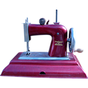 1940s Child's Toy CASIGE Sewing Machine Germany British Zone