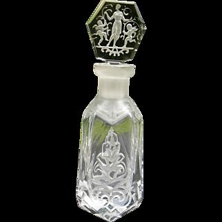Art Deco Hoffman Perfume Bottle - As is