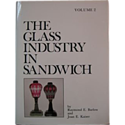 1993, 5 Vol Set THE GLASS INDUSTRY IN SANDWICH 1st Ed, 1st printing, Signed, Most Excellent!