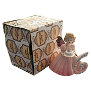 Josef Originals Age 6 Birthday Angel Doll Figurine MIB