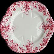 Shelley Fine Bone China Porcelain Dainty Pink Under Plate or Dessert