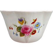 Shelley Bone China Sugar Bowl Rose and Red Daisy Dainty Shape