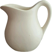 White Matte McCoy Pitcher or Creamer Hard to Find