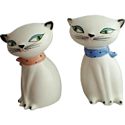Holt Howard Cozy Kittens Cat Salt & Pepper Shakers 1958