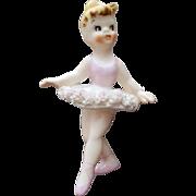 1958 Holt Howard Ballerina Candle Hugger Climber Label