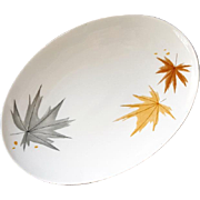 Ben Seibel 1960s Harvest Time Platter True China for Iroquois Casual Mid Century