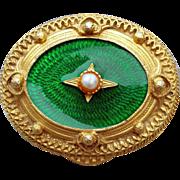 Vintage Florenza Pill or Trinket Box Jeweled Enameling - Red Tag Sale Item