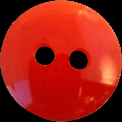 Big Red Bakelite Button Vintage Smash Hit