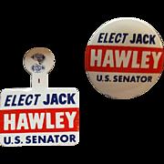 Vintage Idaho Republican Political Buttons Jack Hawley 1960s