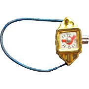 Vintage Miniature Doll Toy Wrist Watch 1950s Japan for Fashion Dolls