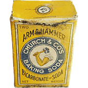 Miniature Arm & Hammer Baking Soda Package Doll Size