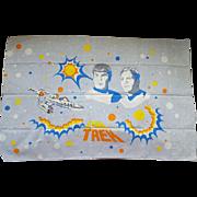 Vintage Star Trek Pillowcase MIP Original Series Spock Kirk Enterprise