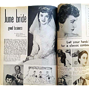 1958 Beauty How To Book Hair Dresser Cosmetologist Beautician Bride