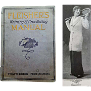 1914 Fleisher's Knitting and Crocheting Manual 12th Edition