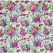 Vintage Floral Cotton Sewing Fabric Spring and Summer Material
