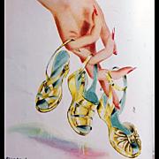 Vogue Magazine November 1947 Christmas Gift Issue Schiaparelli Palladium
