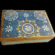 Vintage Italian Florentia Gilt Wooden Box Italy Jewelry or Treasures
