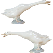 Lladro Goose Mint Condition Spain Perfect Porcelain