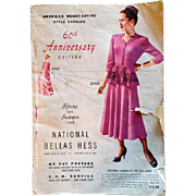1948 Bellas Hess Catalog 60th Anniversary Fashion Home Decor