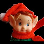 Vintage Christmas Elf Knee Hugger Elf on the Shelf Inspiration