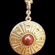 1970s Sarah Coventry Long Necklace Detachable Enhancement