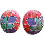 Gorgeous Edgar Berebi Vintage Pierced Earrings All Time Favorite!