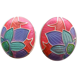 Gorgeous Edgar Berebi Vintage Pierced Earrings All Time Favorite!