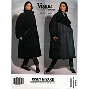 Issey Miyake Vintage Vogue 2978 Reversible Coat Small Medium Large Mint