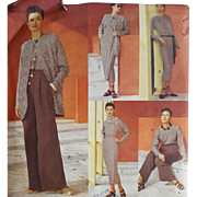 Vintage Vogue Sewing Pattern 5 Easy Pieces Sizes 12-14-18