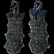 1920s Beaded Purse Carnival Beads Classic Fringed Downton Abbey Era