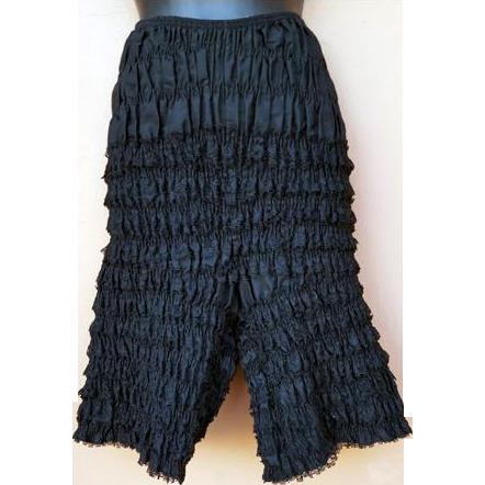 Vintage Black Lace Dance Pantalettes Pantaloons Extra Large Unworn