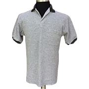 Vintage 1960s Golf Shirt Playster Lord Jeff Small to Medium Unworn
