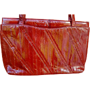 Fabulous Eel Skin Purse Hand or Shoulder Bag