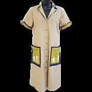 Vintage Vera Maxwell Original Dress Size Large Mint