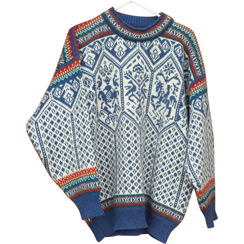 Mens Dale Of Norway Wool Sweater Lillehammer Olympics 1994 Size XXL
