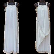 Vintage White Olga Nightgown NOWT Sleeping Pretty Mint Size Large