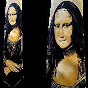 Mona Lisa Men's Silk Necktie from Leonardo Da Vinci U.S.A.  1992