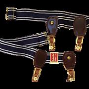 1940s - 1950s Men's Garters for Socks Unused Original Tag