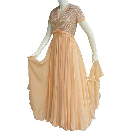 Evening dresses 1960