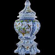 Large Vintage Italian Pottery Urn - Mid 20th Century