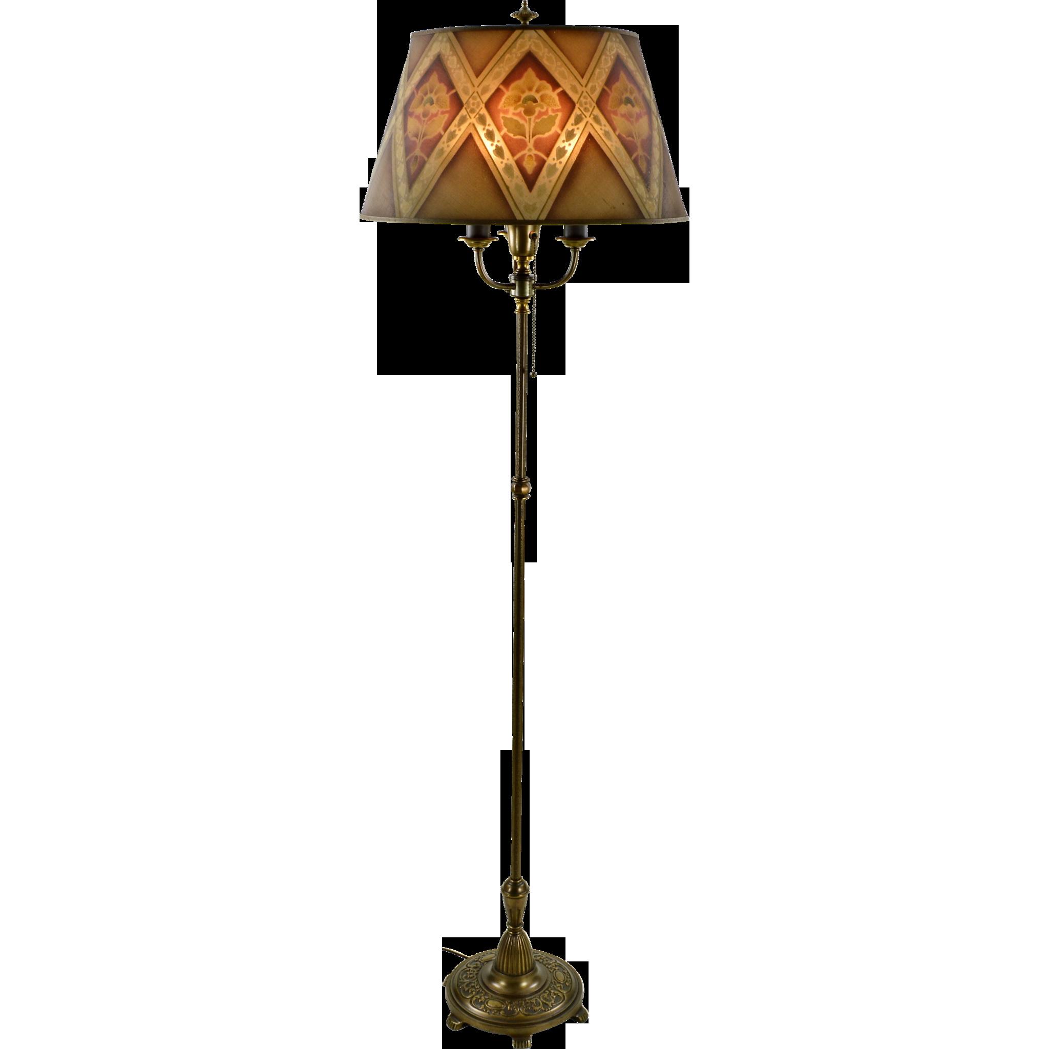 Vintage Floor Lamp Shade 73